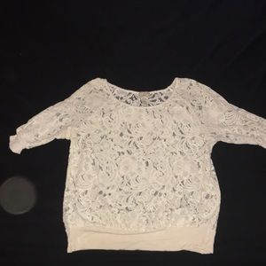 Lace 3/4 sleeve